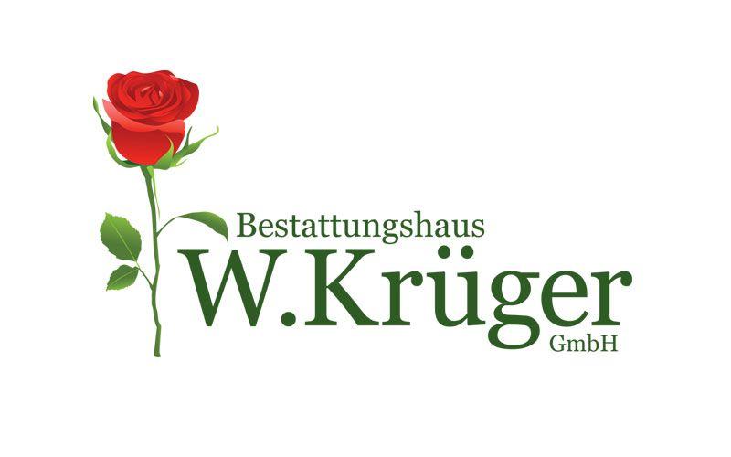 Logo Design Bestatter Krüger