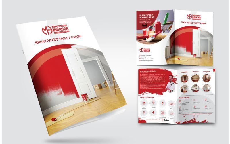 Logo Design - 4-seitige Broschüre